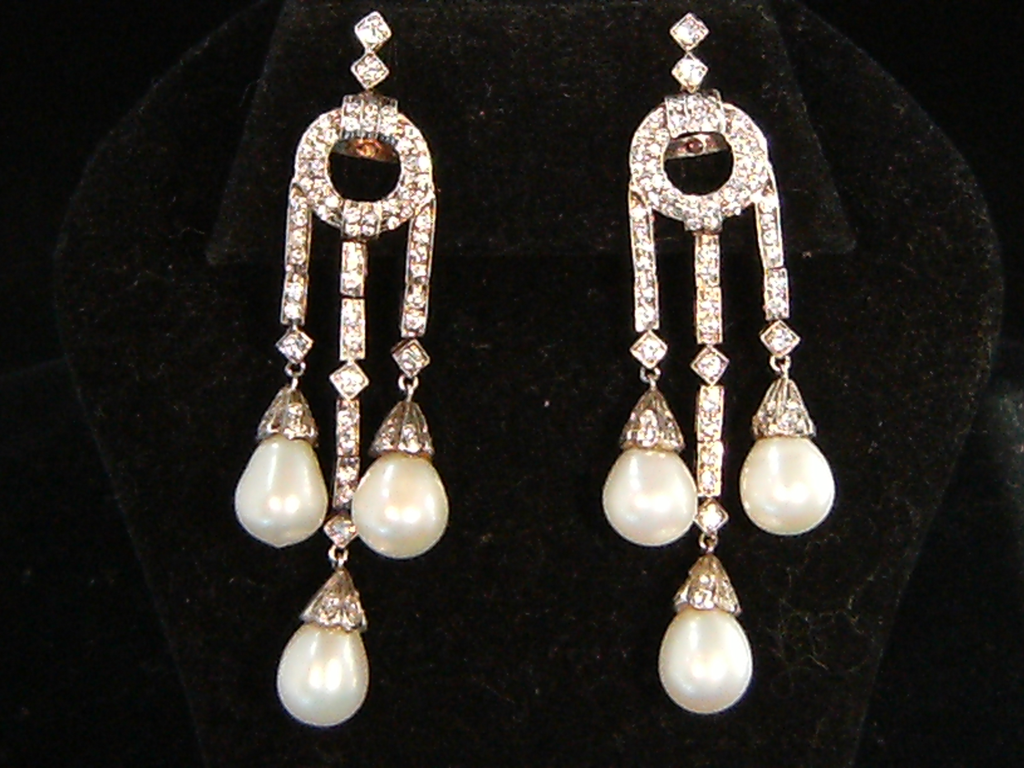 Bell Epoque Pearl Drop Earrings